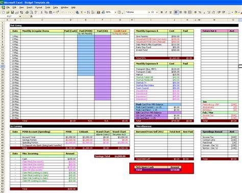 home improvement spreadsheet  renovation