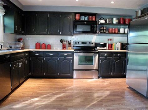kitchen black cabinets black kitchen cabinets with some white accents traba homes 2317