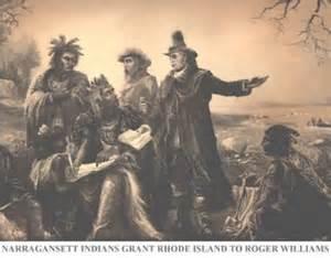 Roger Williams Rhode Island Colony