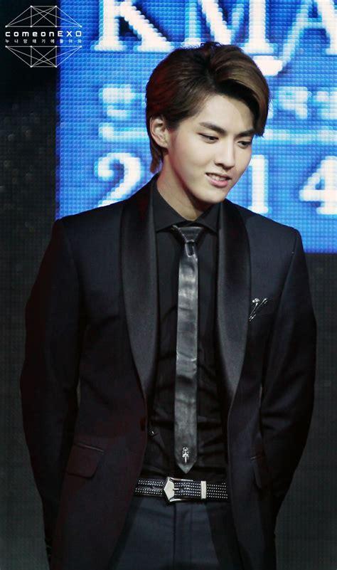 Kris  140228 @ 11th Korean Music Awards ^^ Exo
