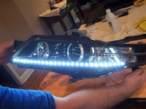 help with audi style led strips for headlights page 2