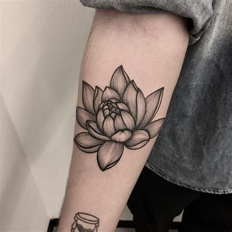Rizog com Tatuaje De Flor De Loto Brazos Los Más