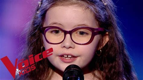 Emma the voice kids 5. Céline Dion - My heart will go on   Emma   The Voice Kids France 2018   Demi-finale - YouTube