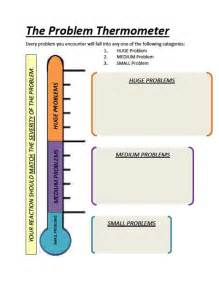 Problem The Thermometer Worksheet