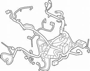 Chevrolet Malibu Engine Wiring Harness  3 5 Liter  Under