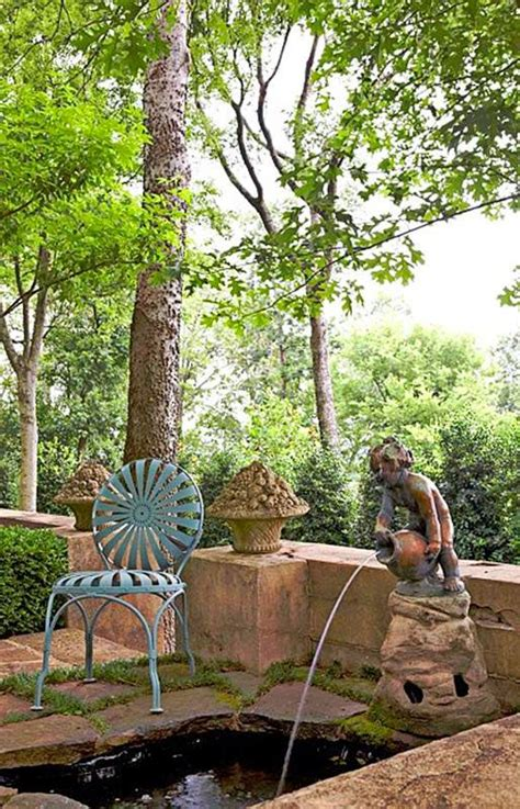 Garden Southern Setting by Garden In A Southern Setting Gardening