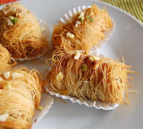 recette cuisine orientale patisserie orientale amande miel