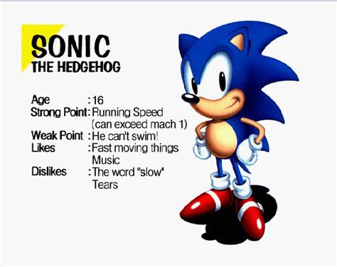 Sonic Jam Bio Classic Sonic Is Older? By Classicsonicsatam