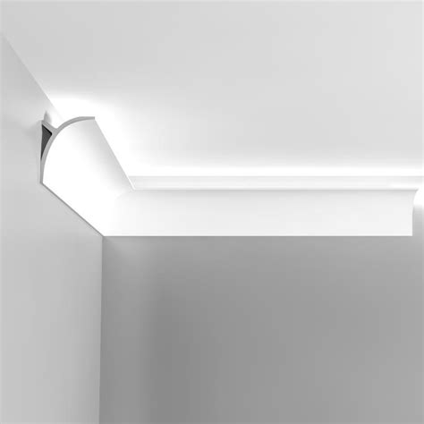 corniche eclairage indirect plafond corniche moulure de plafond axxent orac decor pour eclairage indirect c991