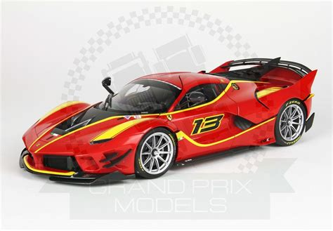The geometry of the perimeters of the front bumper turned into altered by means of hollowing out the surfaces underneath the headlamps, as well as with the aid of. Ferrari FXX-K Evo 2017 #13 1:18 by BBR
