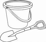 Shovel Bucket Coloring Pail Template Steam Printable Tocolor Getcolorings Place Templates Getdrawings Sketch sketch template