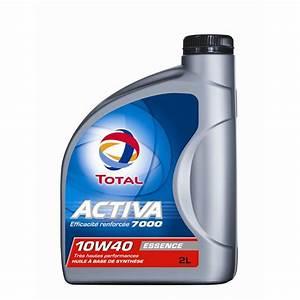 Huile Moto 10w40 Leclerc : huile moteur total activa 7000 essence 10w40 2 l ~ Medecine-chirurgie-esthetiques.com Avis de Voitures