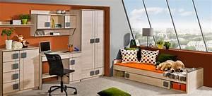 Schrankwand Mit Integriertem Schreibtisch : jugendzimmer kinderzimmer schrank mit schreibtisch b ro ~ Watch28wear.com Haus und Dekorationen
