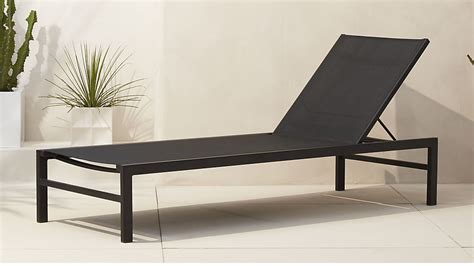 black chaise lounge idle black outdoor chaise lounge cb2