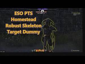 ESO PTS Homestead v2 7 3 Robust Skeleton Target Dummy ...