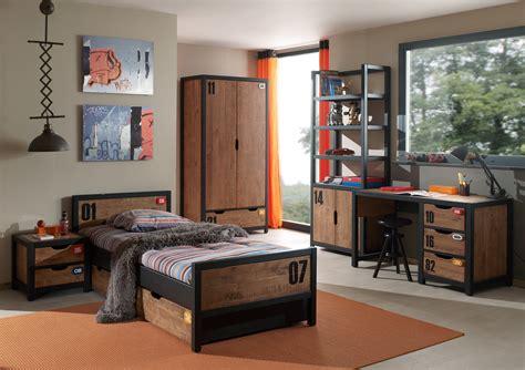 chambre style industrielle chambre style industrielle alex 5 pièces