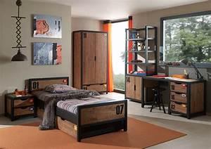 Chambre Garcon Complete : chambre style industrielle alex 5 pi ces ~ Teatrodelosmanantiales.com Idées de Décoration
