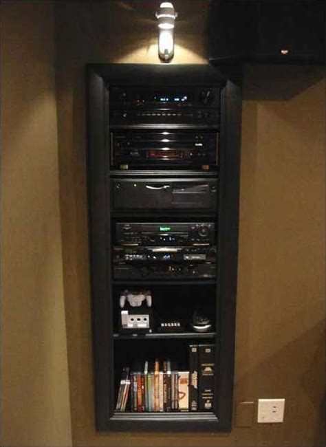 wall built stereo cabinet team h compound