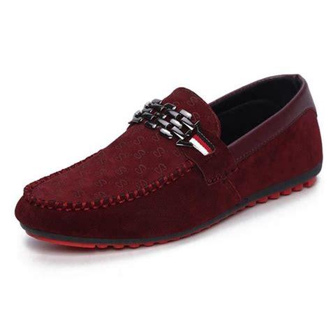 mocassins homme cuir chaussures bateau