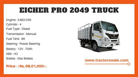 eicher truck 2049 pro reasonable delhi compatible ex value range money room