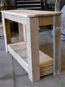 Hallway Pallet Table • 1001 Pallets