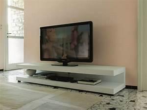 Meuble De Tele Design : comment choisir un meuble t l design pour un cran plat ~ Teatrodelosmanantiales.com Idées de Décoration