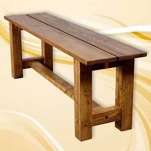 Banc Bois Massif : fabriquer un banc en bois massif ~ Teatrodelosmanantiales.com Idées de Décoration