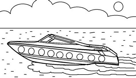 How To Draw A Boat Race by 21 Printable Boat Coloring Pages Free