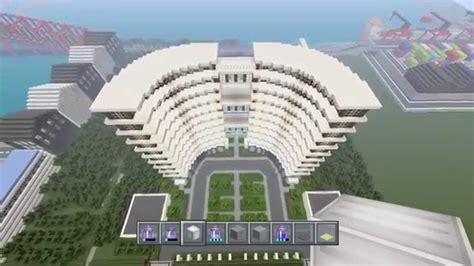 minecraft modern hotel showcase awesome modern hotel