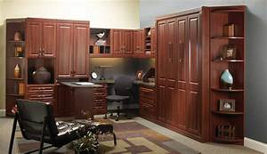 Custom home office furniture for office design for Custom home office desk