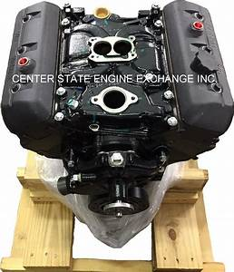 Reman Gm 4 3l  V6 Vortec Marine Engine W   2bbl Intake  Replaces Merc 1997