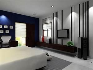 Modern Master Bedroom Interior Design Wallpape #5017 ...