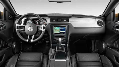 mustang main dash trim kit  navigation system
