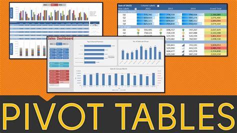 learn excel pivot tables learn excel pivot tables in 1 hour free webinar join