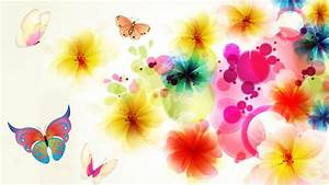 Bright, Floral, Background, Free, Download
