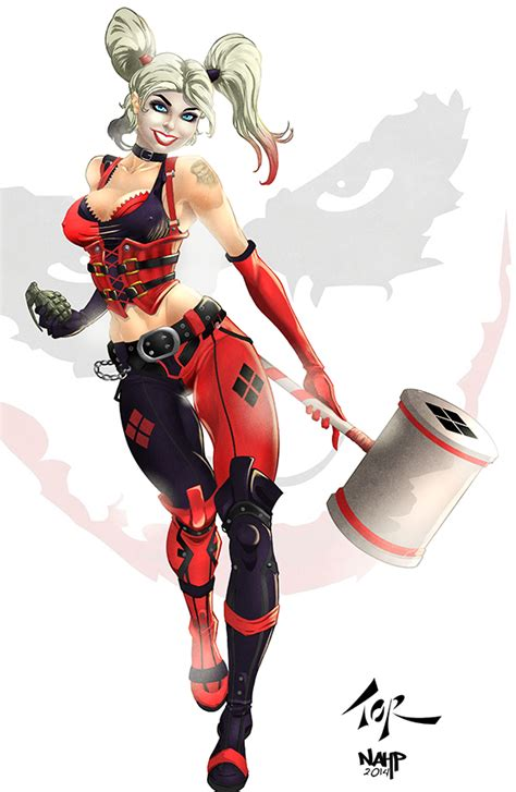 harley quinn colors harley quinn droppin the hammer colors by nahp75 on