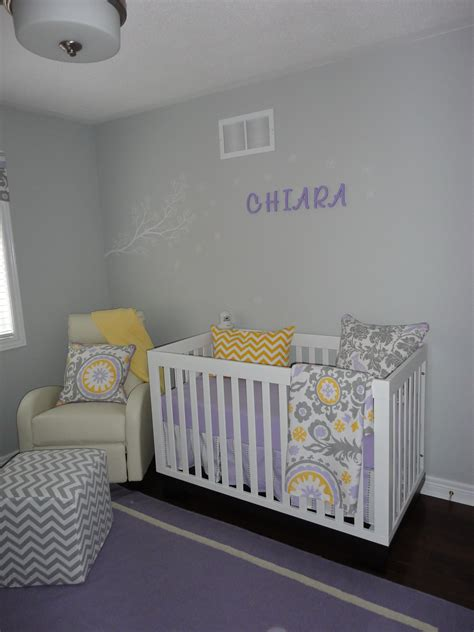 transitional lavender grey nursery project nursery