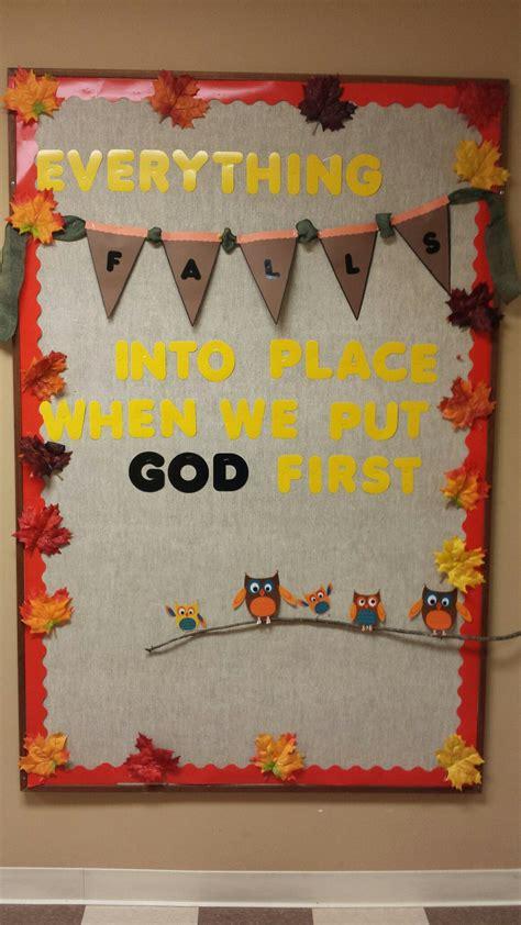 hcucc fall  fall church bulletin boards christian