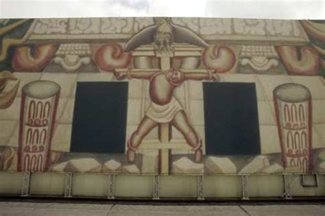 David Alfaro Siqueiros Mural Olvera by Past Mural Projects America Tropical By David Alfaro