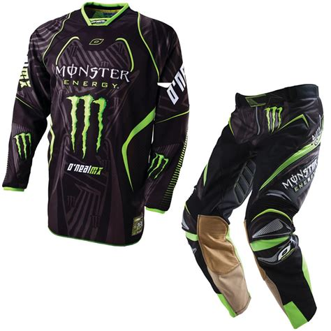monster energy motocross gear oneal 2011 hardwear ricky dietrich monster energy mx