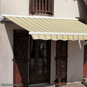 Toile Pour Store Banne : store banne figari franciaflex ~ Dailycaller-alerts.com Idées de Décoration
