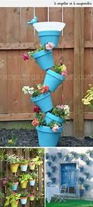 Creation Avec Des Pots De Fleurs : 21 cr ations avec des pots de fleurs ~ Melissatoandfro.com Idées de Décoration
