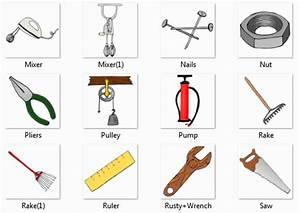 اسماء الادوات في اللغة الانجليزية - Tools in English