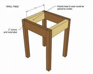 Ana White Preston Nesting Side Tables - DIY Projects