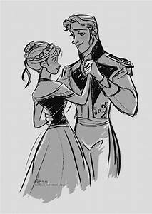 Disney's FROZEN - Anna and Hans by David Kawena by ...