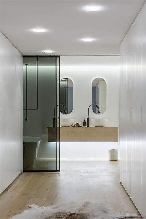 ingenious contemporary bathroom  minosa design