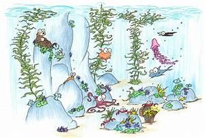 screen backgrounds: undersea kelp forest   bluebison.net