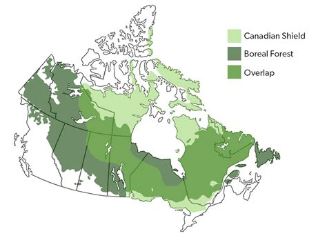 Map Of Canada Canadian Shield Maps Of The World