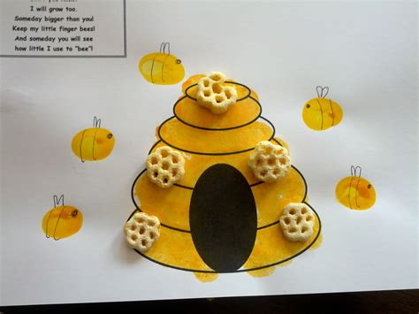 15 bumblebee crafts 881   Beehive craft with Honeycomb cereal