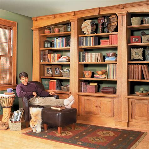 bookcase projects  building tips  family handyman